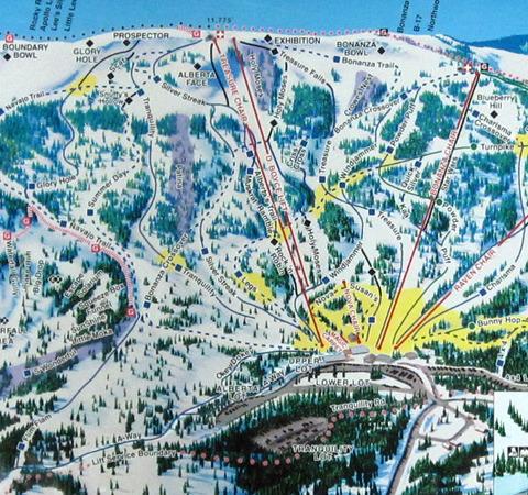 map wolf creek ski area pagosa springs colorado ski rentals